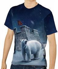 Der König Cg Eisbär Herren T-Shirt Tee Gr. S M L XL 2XL 3XL aao40389