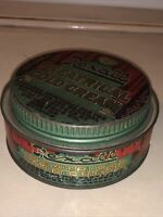 ANTIQUE EARLY 1900S THEATRICAL COLD CREAM TIN CAN REXALL UNITED DRUG COMPANY