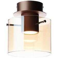 Led Lampe de Plafond Lumière Éclairage Beth Matte Cuivre Ambre 800 Lumens