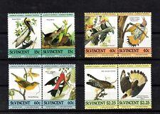 St. Vincent, serie vogels, postfris