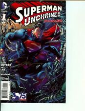SUPERMAN UNCHAINED #1 SIGNED JIM LEE NEAR MINT