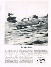 1965 Ford Galaxie 500 XL 2-door hard top Vtg Print Ad