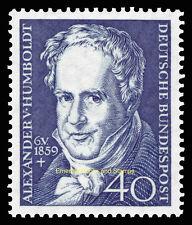 EBS Germany 1959 Alexander von Humboldt Michel 309 MNH**