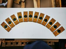 More details for 12 original avon boot polish finger plates in tin