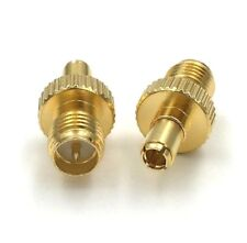 RP SMA Female to TS9 Male Adaptor Convertor Connector Gold Plated   F2235K