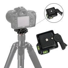 QR40 Camcorder Tripod Monopod Ball Head Quick Release Plate Case for DSLR Canon