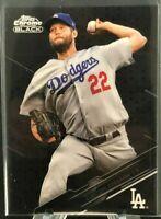 Clayton Kershaw 2020 Topps Chrome Black no.99 - Los Angeles Dodgers