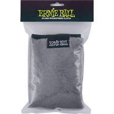 "Genuine Ernie Ball 12"" x 12"" Ultra-Plush Microfiber Polish Cloth P04219"