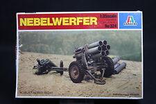 XU010 ITALERI 1/35 maquette vehicule militaire 324 Nebelwerfer lance fusées