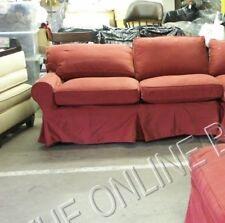 Pottery Barn Basic Sofa Sectional slipcover LEFT ARM LOVESEAT CARDINAL CANVAS RD