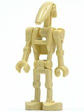 LEGO Star Wars minifigure Battle Droid minifig STRAIGHT ARMS 7678