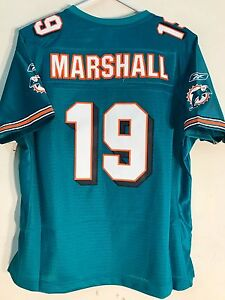 Reebok Women's Premier Jersey Miami Dolphins Brandon Marshall Teal sz S