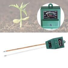 3 En 1TESTEUR PH SOL EAU humidité lumière Test mètre pour jardin plante à fleur