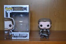FUNKO POP! GAMES OF THRONES Robb Stark #08 With Box