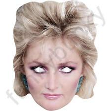 Bonnie TYLER Celebrità Stile Retrò Anni 1980 Biglietto Maschera Facciale. tutte le nostre Maschere sono pre-tagliati!