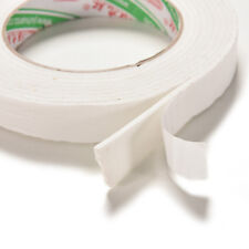 Double Sided White Foam Sticky Tape Roll Adhesive Super Strong 1.8*300cm FL