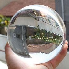 Asian Rare Quartz Natural Magic Crystal Healing boule Sphère 60mm + Support #MF