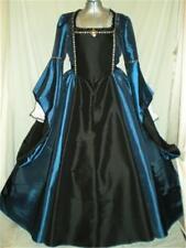 """Tudor Renaissance Madrigal Boleyn Dress Gown, Your Size Choice Busts 34""""- 46"""""""
