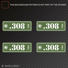 .308 Ammo Can Sticker Set Classic Edition Die Cut Decal bullet 308