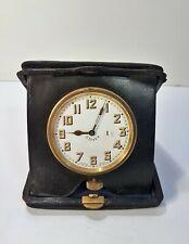 Ancienne Pendulette horloge montre gousset 8 days oignon savonnette Swiss made
