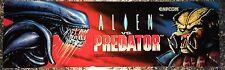 "Alien vs Predator Arcade Marquee 26""x8"""
