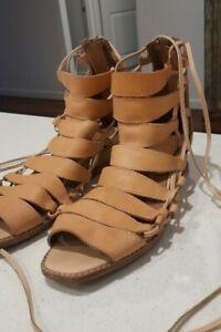Jeffrey campbell Size 7.5 gladiator sandals