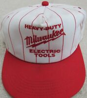 Heavy-Duty Milwaukee Electric Tools Baseball Trucker Cap Hat Vintage Snap Back
