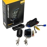 Compustar RF-2WT9FM 2-Way LCD 3000 Ft & 1-Way Remote Kit FMX Technology
