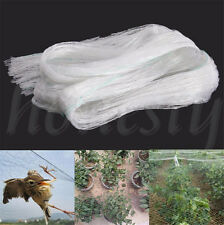 4x10m Anti Bird Netting Net Mesh Vegs Crop Plant Fruit Protection For Pond Farm