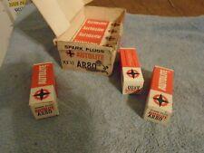 8 Vintage Auto Lite Resistor AR80/306 Spark Plugs 8 each 37-67 amc chevy dodge