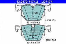 Ceramic Bremsbelagsatz, Scheibenbremse Hinterachse ATE 13.0470-7174.2