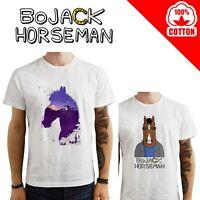 T-Shirt Bojack Horseman uomo Maglia cotone maglietta serie tv