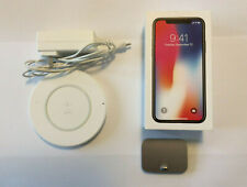 Apple iPhone X - 256GB - Space Gray (Verizon) A1865 - With Accessories