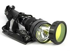 85W 8500 Lum HID Xenon 8700mAh SOS Torch Flashlight Spotlight Lamp Lantern Light