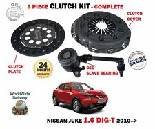 FOR NISSAN JUKE 1.6 DIG T MR16DDT 2010--> NEW CLUTCH PLATE COVER CSC BEARING KIT