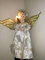 Collectible Telco Motion-ette Christmas Angel Girl 2' Animated and Lighted 1995