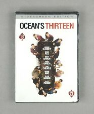 Ocean's Thirteen (DVD) George Clooney, Brad Pitt, Matt Damon, Bernie Mac -SEALED