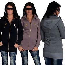 Hüftlange Damenjacken & -mäntel aus Baumwolle ohne Muster für die Freizeit