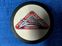 NHL 44th ALL-STAR GAME PUCK MONTREAL FORUM CANADIENS ZIEGLER CZ3 SLUG