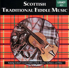 SCOTTISH TRADITIONAL FIDDLE MUSIC (Reels, Marches, Strathspeys) CD [B15]