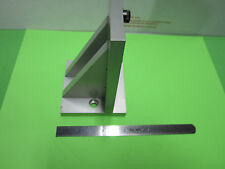 NEWPORT ALUMINUM ANGLE SUPPORT FOR LASER OPTICS  AS PICTURED BIN#29