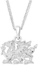 Welsh Dragon Sterling Silver Pendant