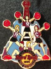 Hard Rock Cafe LAS VEGAS 2011 Cheerleaders PIN Pompoms Guitar Girls - HRC #60142