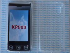 Cover custodia gomma per LG KP500 trasparente transparent rubber plastic