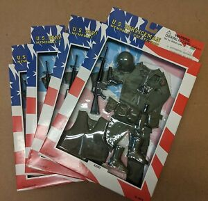 NEW! US Serviceman Memorial Collection - Vietnam War outfits - 4 variations