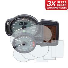 BMW F800 GS/GT/R/S/ST 2006+ Dashboard Screen Protectors: 3 x Ultra Clear