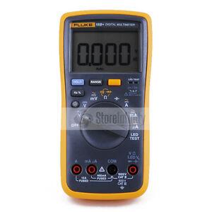 Latest Fluke 18B+ Plus AC DC Voltage Current Digital Multimeter DMM with LED