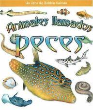 Animales Ilamados Peces (?Qui Tipo de Animal Es?) (Spanish Edition)-ExLibrary