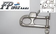 Mousqueton inox 316 Réglementaire Pour Ski Nautique Charge 300kg