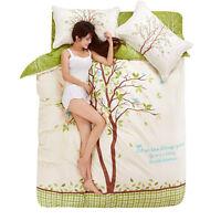 4 Piece Bedspread Set Bed Coverlets Love Tree Printing  Bedding Sleepwish Medium